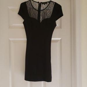 All black Guess mini dress